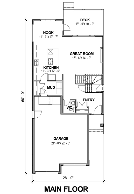 1 5 2 story house plan 380 for 380 square feet floor plan